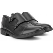 Clarks CORDIS STYLE Monk Strap For Men(Black)