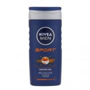 Nivea Men Sport Shower Gel 250ml Körperkosmetik für Herren für Männer Duschgel für Körper und Haare