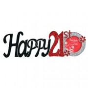 Happy 21st Tallulah Glitter Frame