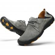 Zapatos De Casual Para Deporte De Aire Libre E-Thinker Para Hombre - Negro