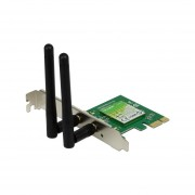 Tarjeta de Red Inalámbrica con 2 Antenas TP-Link, Wireless N, hasta 300Mbps, PCI Express. TL-WN881ND