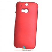 Husa Slim Plastic HTC One M8 Rosie Visinie