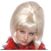 Peruca petrecere blonda 'Sexy anii 60' blond - Cod 57331