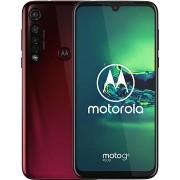 Motorola Moto G8 Plus, piros