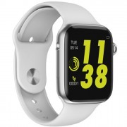 "Ceas smartwatch W34 White, 1.54"" IPS Full Touchscreen, Monitorizare Sanatate, Notificari"