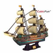 Puzzle 3D Corabia San Felipe