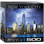 Puzzle Eurographics - New York City - World Trade Center, 500 piese XXL (56062)