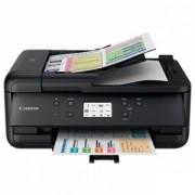 Multifunctional inkjet color Canon Pixma TR7550 Black, dimensiune A4 (Printare, Copiere, Scanare, Fax)