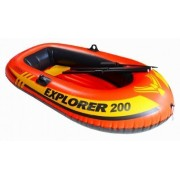 Intex Explorer Boat Set with 2 Oars and Air Pump-200 Boats
