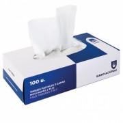 Mouchoirs 2 plis en boite de 100- 20x20cm - Pack de 30 boites