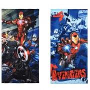 Avengers Assemble Avengers bad handduk (BLÅ)