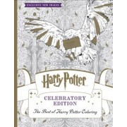 The Best of Harry Potter Coloring: Celebratory Edition (Harry Potter), Paperback