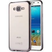 Skin Electroplating OEM Silicon OEM Samsung Galaxy J5 J500 2015 Negru
