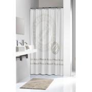 Sealskin Stencil Taupe zasłona prysznicowa tekstylna 180x200cm 235251367