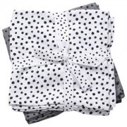 Done by Deer Swaddle 2-pack Happy Dots Grey