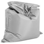 Zitzak 'LAZY' grijs 180x140 cm