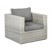 Tierra Outdoor Illias loungestoel weathered grey 84 x 86 x 67 cm