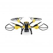 Drone Sky Warrior con Control, Wifi, Camara y App - Amarillo