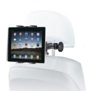 Shop4 - iPad Mini 2 - Autohouder Hoofdsteun Tablet Houder Arm Zwart