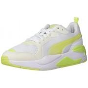 PUMA X-Ray Zapatillas Deportivas para Mujer, Puma White-Sharp Green-Vaporous Gray, 6 US