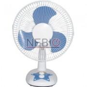 Ventilator de birou Victronic, 3 viteze, 35 W, Alb