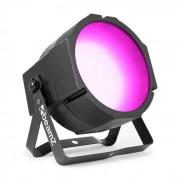 Beamz BS271F Flat Par foco 271 ledes RGB 3 en 1 SMD modo independiente o DMX pantalla led (Sky-153.288)