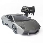 ToysCentral Lamborghini Reventon Sport Racing with Remote Control, Big Size 1:10 Scale Licensed Model, Ready to Run, Matte Grey