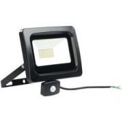 Luminea Projecteur étanche à LED 50 W / 4000 lm / blanc du jour avec capteur