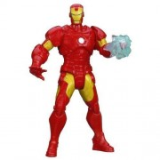 Marvel Mighty Battlers Arc Strike Iron Man Figure By Hasbro Toys (English Manual)