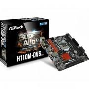 Asrock Intel 1151 Socket (mATX) MB ASR-H110M-DVS-R3.0