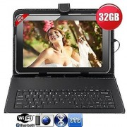 IKall N1(2+16GB) Dual Sim 4G Volte Calling Tablet 8 Inch display with Keyboard Cover Golden