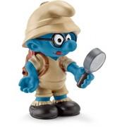 Schleich North America Jungle Brainy Smurf Toy Figure
