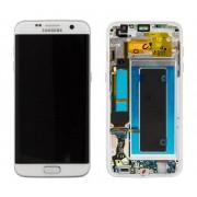 Ecran Display cu touchscreen Samsung Galaxy S7 Edge G935f Alb Original cu rama