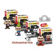 Set 4 Piezas Mickey Mouse Funko Pop Disney 90 Aniversario Raton