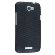 HTC One X / XL / X+ Slim Mesh Case - HTC Hard Case (Black)