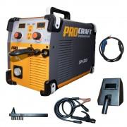 Invertor industrial MMA + MIG Procraft SPI 320 + Set cabluri si furtun MIG, 320 A