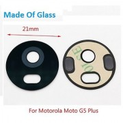 Rear Back Camera Glass Lens With Adhesive Sticker For Motorola Moto G5 Plus