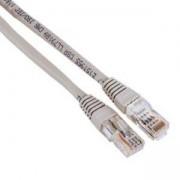 Мрежов пач кабел cat.5e, 3м, UTP, Сив цвят HAMA-30595