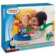 Thomas & Friends - Set de joaca Locomotiva Thomas porneste la drum