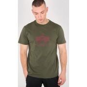 Alpha Industries Basic T-Shirt Green M
