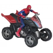 Send Your Spider Man Figure Into Action At Top Speed On His Zoom N Go 4X4 Racer Vehicle - Spider Man Zoom N' Go Pull Back Vehicles - SPIDER QUAD