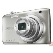 "Nikon Coolpix A100, 20.1MPixel, 5x opt. zoom, 2.7"" LCD, 720p video, Li-ion Battery, silver"
