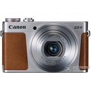 Aparat foto Canon PowerShot G9X, argintiu