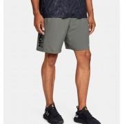 Under Armour Men's UA Woven Graphic Wordmark Shorts Green XL