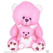 ATORAKUSHON CUTE MOTHER TEDDY BEAR SOFT STUFFED PLUSH TOY KID CHILDREN BIRTHDAY INFANT GIFT