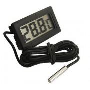 Beépíthető digitális hőmérő elemes