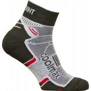 High Point Active 2.0 - ponožky Barva: Černo / červená, Velikost: 39-42