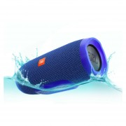 Bocina Portátil Bluetooth A Prueba De Agua Jbl Charge 3 Azul