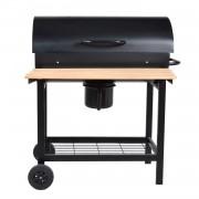 Happy Garden Barbecue au charbon de bois à cuve cylindrique PASADENA