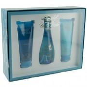 Davidoff Cool Water (W) Set - edt 100 ml + b/lot 75 ml + sh/gel 75 ml